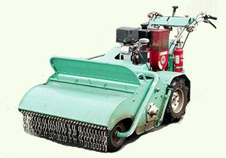 ハンドガイド式芝刈り機の写真